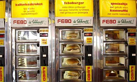 Wil je naar Amsterdam? eet bij FEBO!